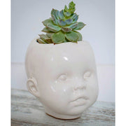 Ceramic Planter Mini (WHITE)