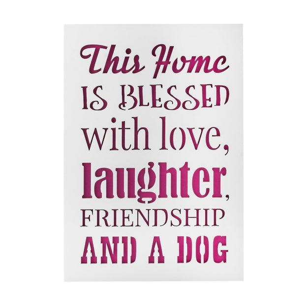 KAUZA  Signs for home decor - dog mom gifts