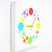 KAUZA Wooden Art Clock, Circles wall clock 300 mm