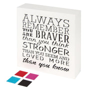 inspirational words wall decor