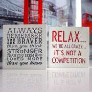 KAUZA  inspirational words wall decor