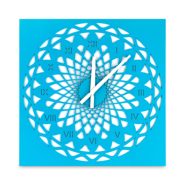 Infiniti Wall Clock Blue