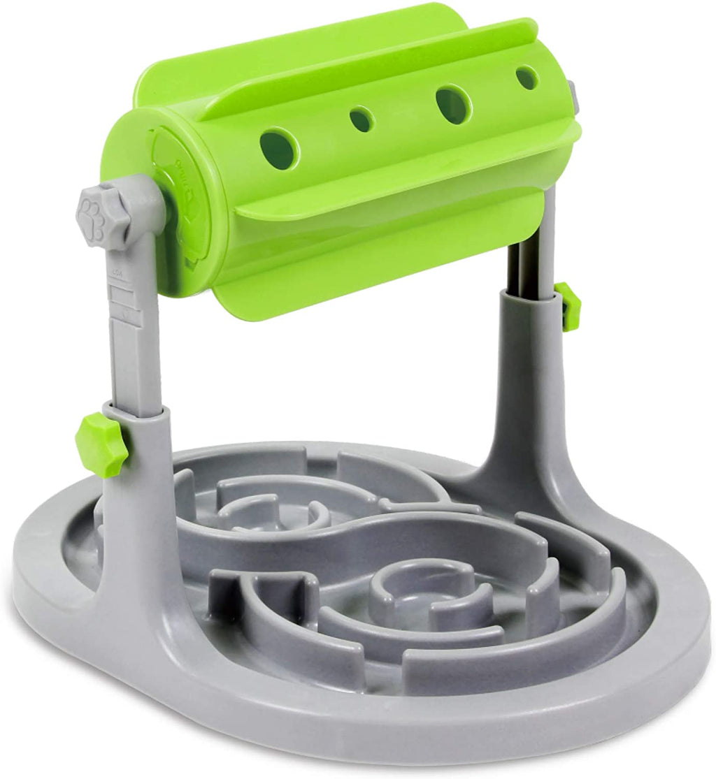 Interactive Slow Feeding Puzzle Dispenser