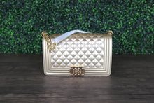 "Load image into Gallery viewer, ""Gold Bar"" Handbag"