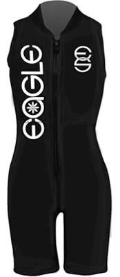 All Black Womens Barefoot Suit