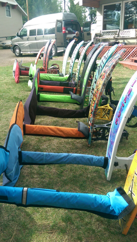 Sit-Down Hydrofoil Covers