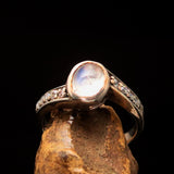 Excellent crafted Men's Biker Ring Skull and Bones - Sterling Silver - BikeRing4u