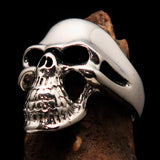 Excellent crafted Men's Biker Phantom Skull Ring - Sterling Silver 925 - BikeRing4u