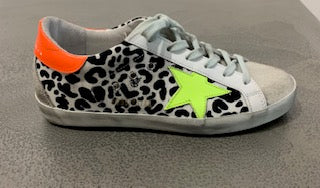 Golden Goose Superstar Sneakers In Leopard