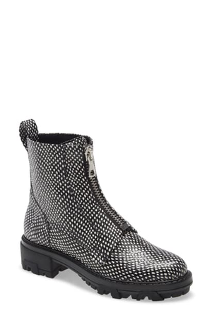 Rag & Bone Shiloh Leather Zip Boot