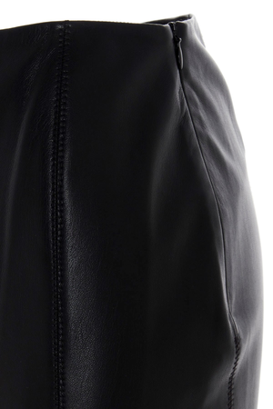 Nanushka Artem Vegan Leather Skirt