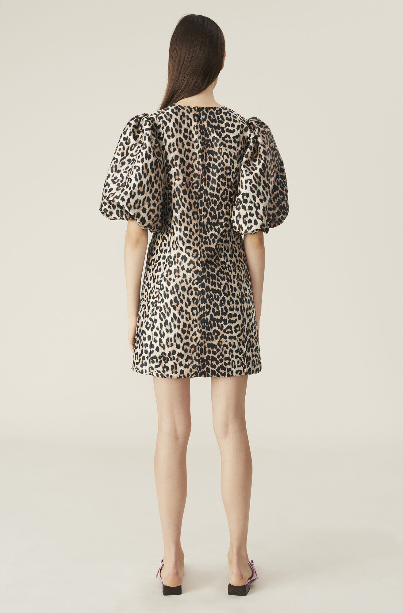 Ganni Crispy jacquard Mini Dress
