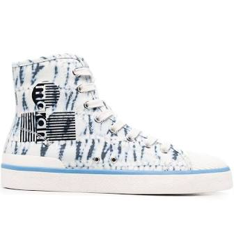 Isabel Marant Benkeen high top tie dye sneakers