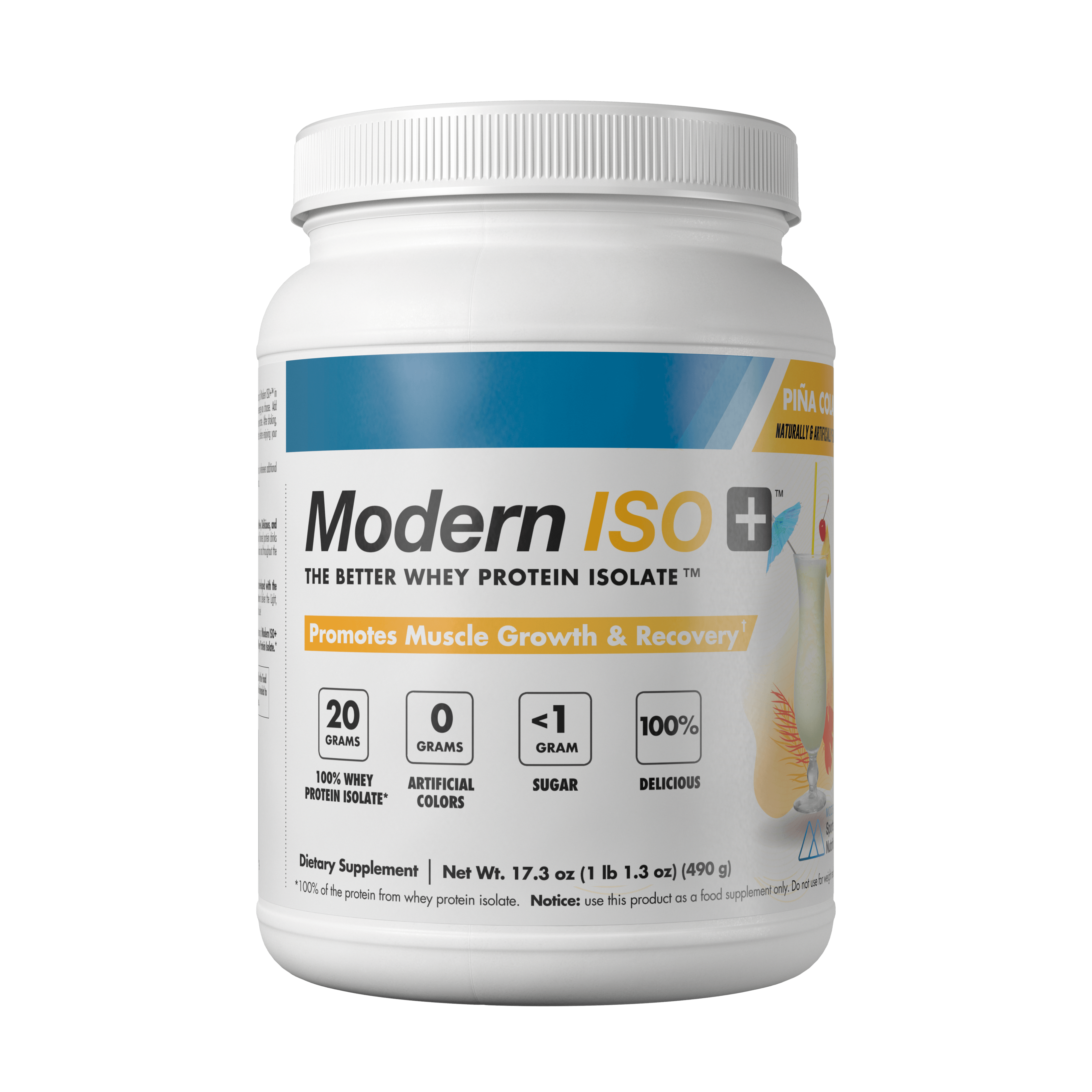 Modern ISO+® 100% Whey Protein Isolate