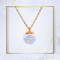Sphere & Stars Necklace