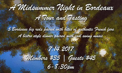 Member Ticket - A Midsummer Night in Bordeaux