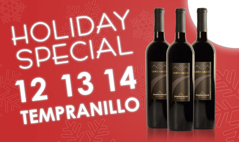 Holiday Tempranillo Trio