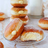 Cream Cheese Filled Sugar Doughnuts