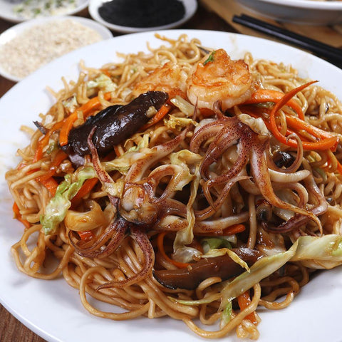 Seafood Fried Noodles