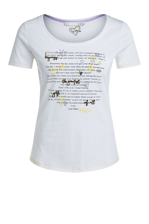 A Letter From Your Heart Tee - Sonia's Runway
