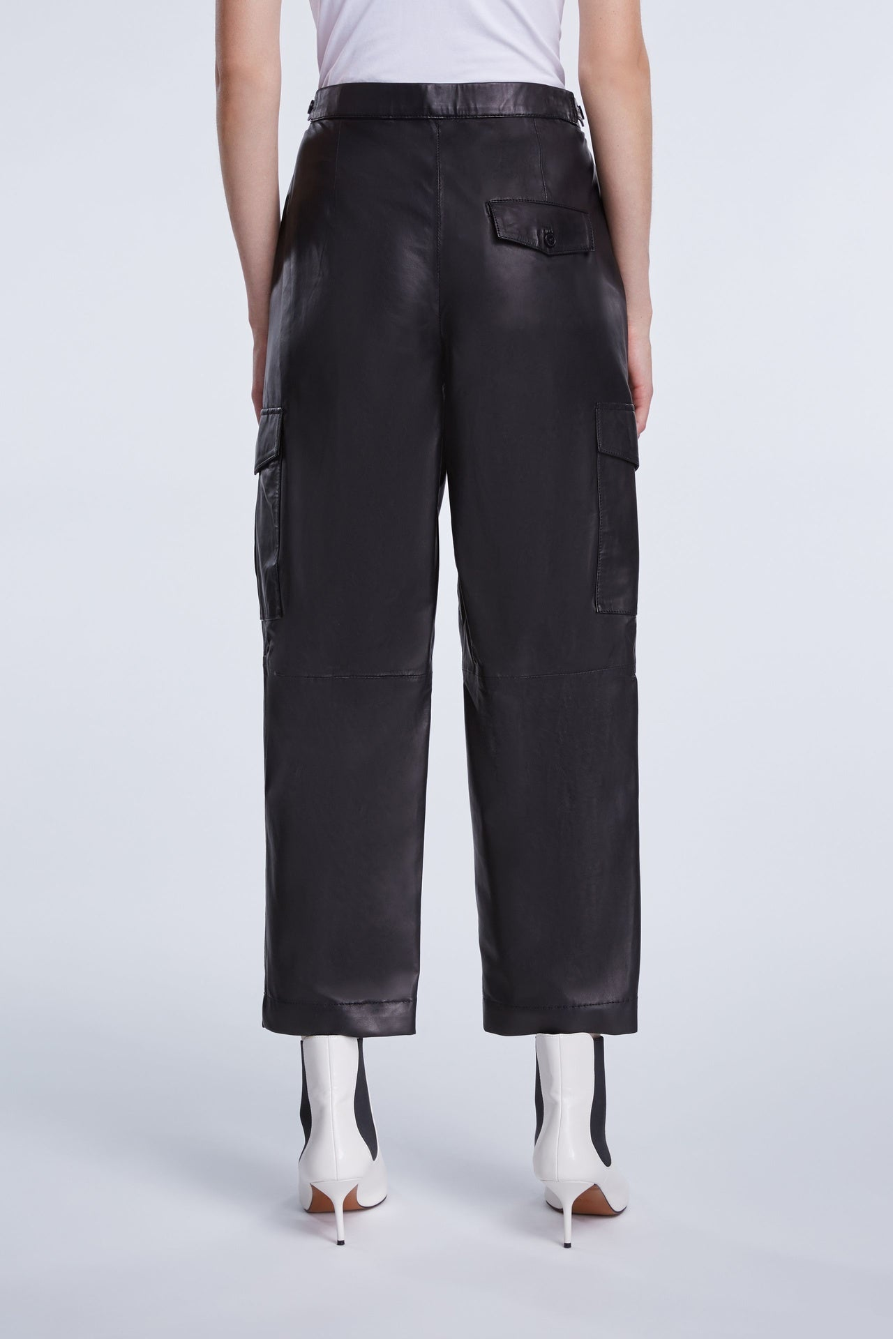 Cargo Leather Pant