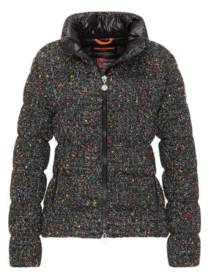 Tweed Quilted Coat