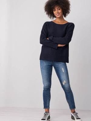 Sweater With Pockets - Sonia's Runway