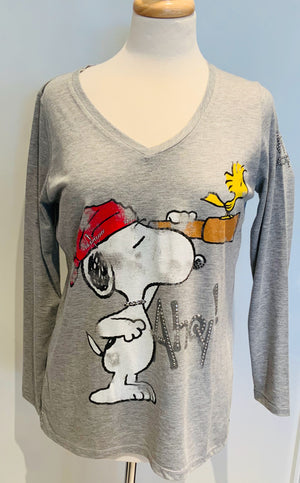 Pirate Snoopy Top