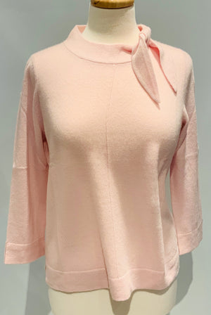 Cashmere Sweater W/Bow