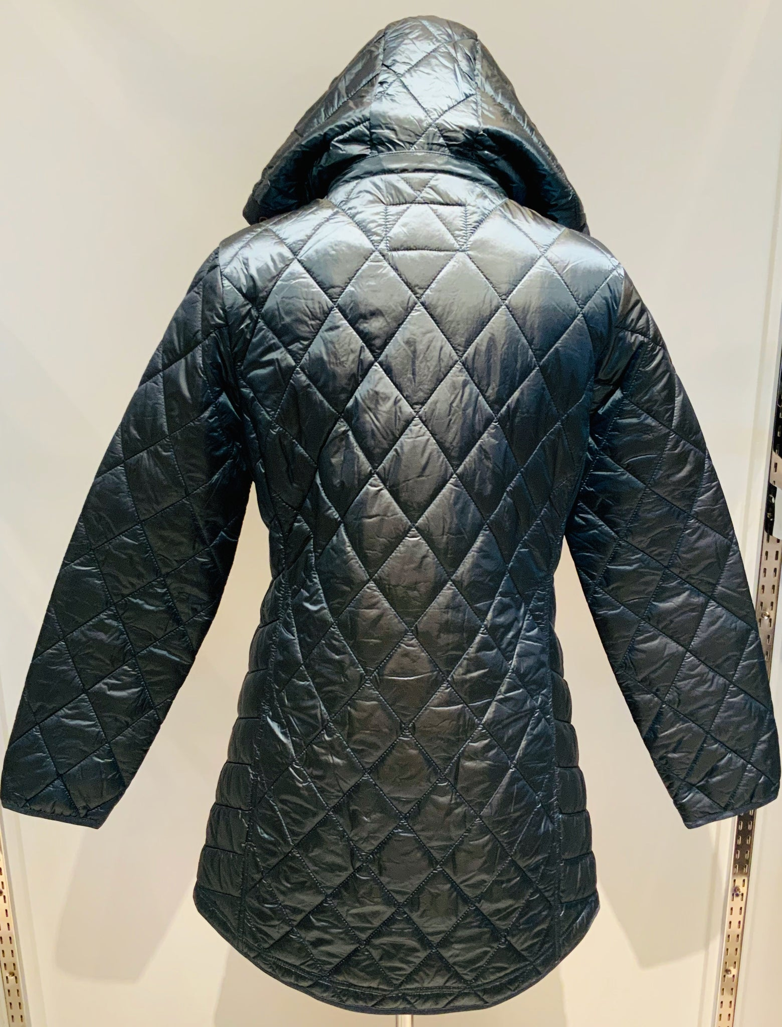 Quilted Coat W/Hood