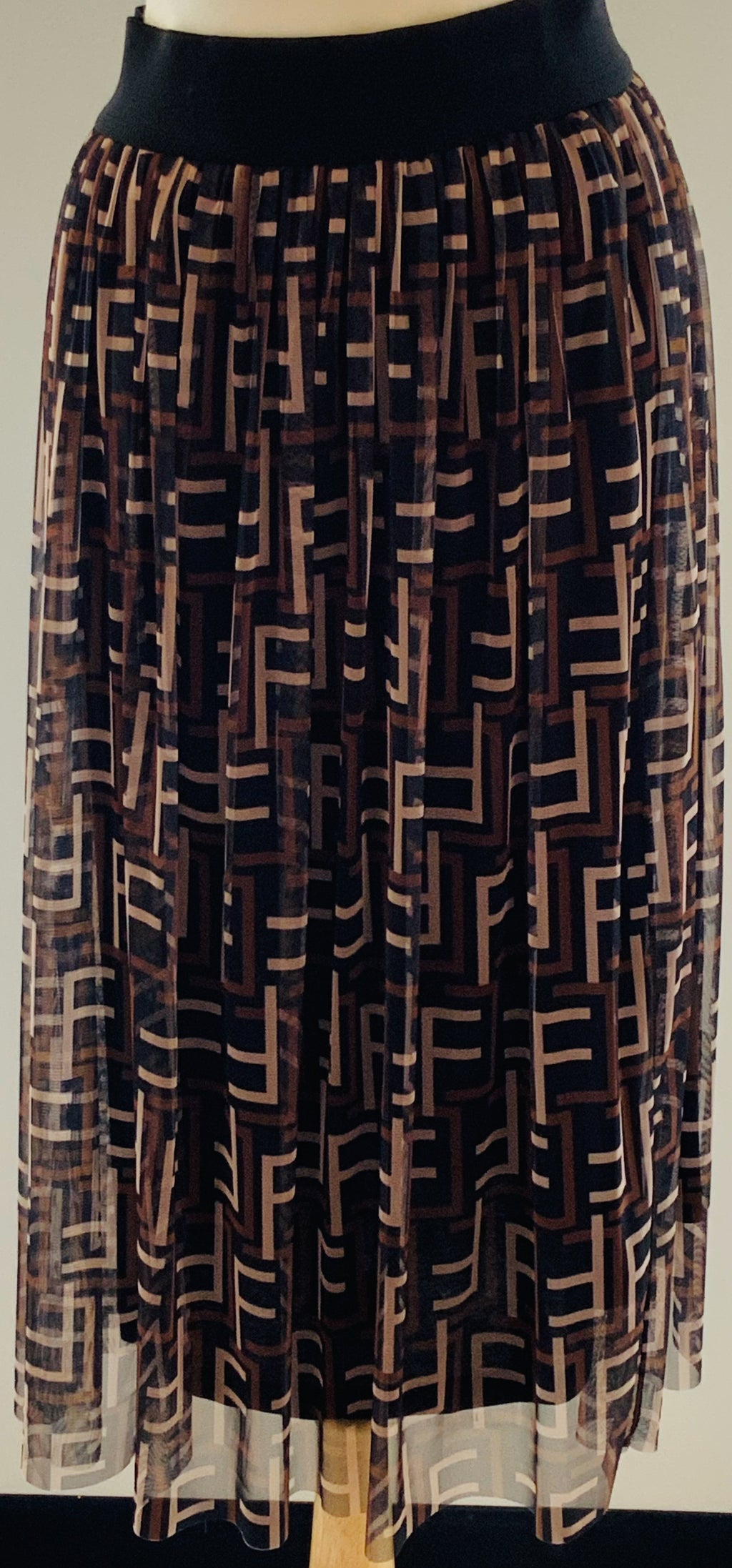 Fendi Inspired Skirt