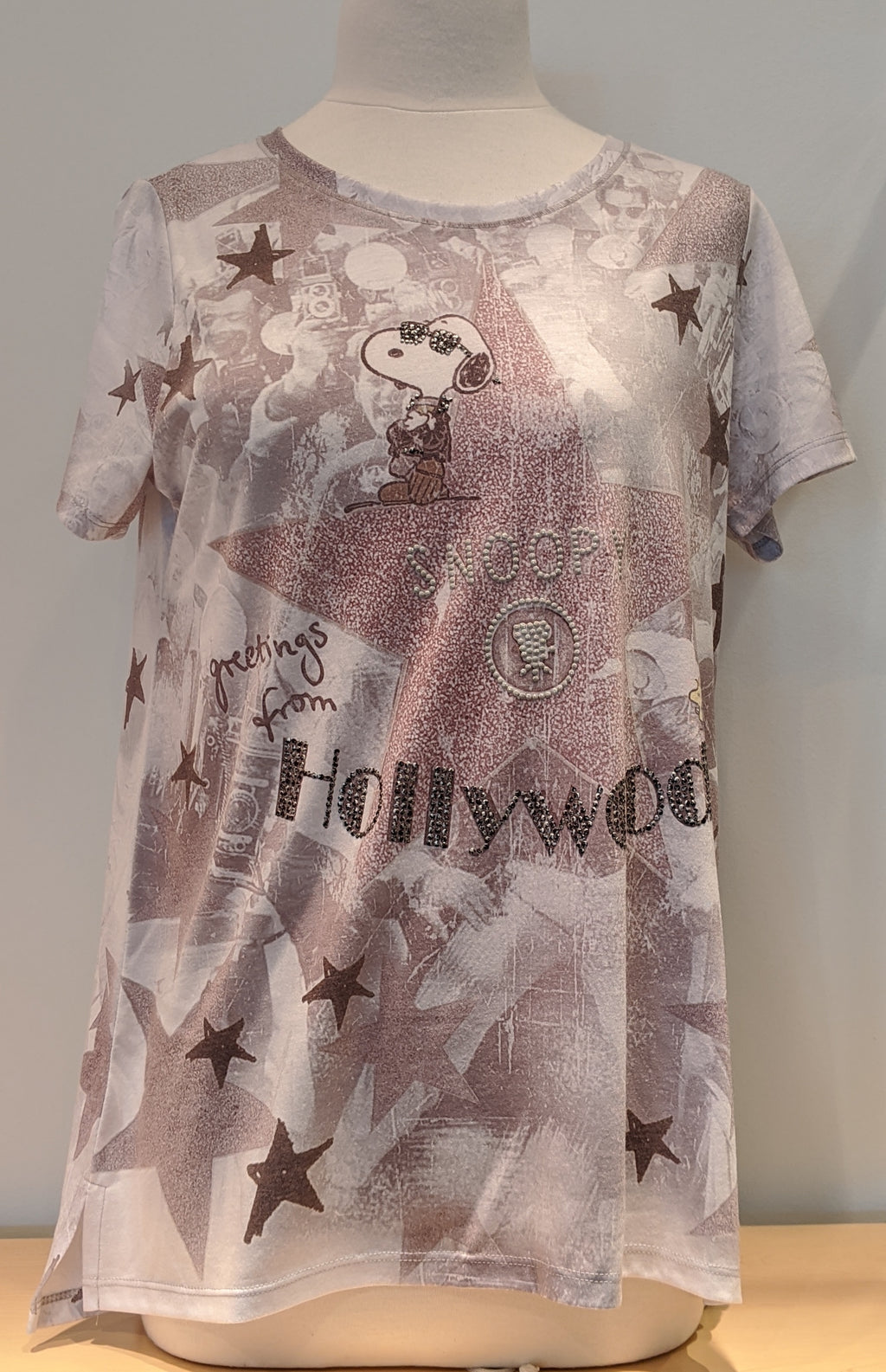 Snoopy Goes To Hollywood Tee - Sonia's Runway