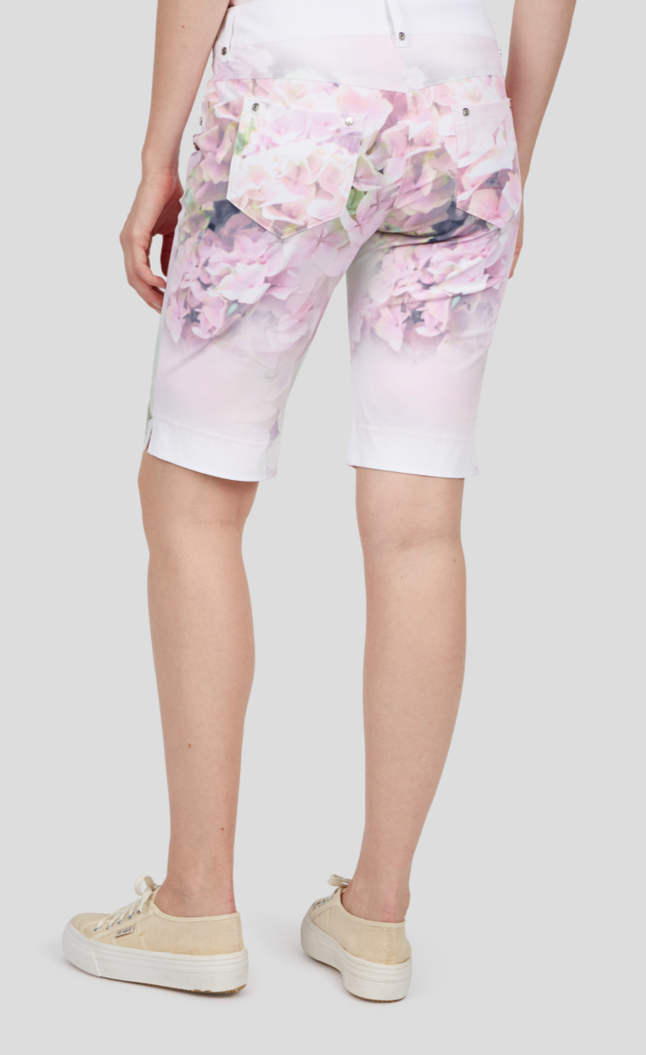 Digital Print Shorts - Sonia's Runway