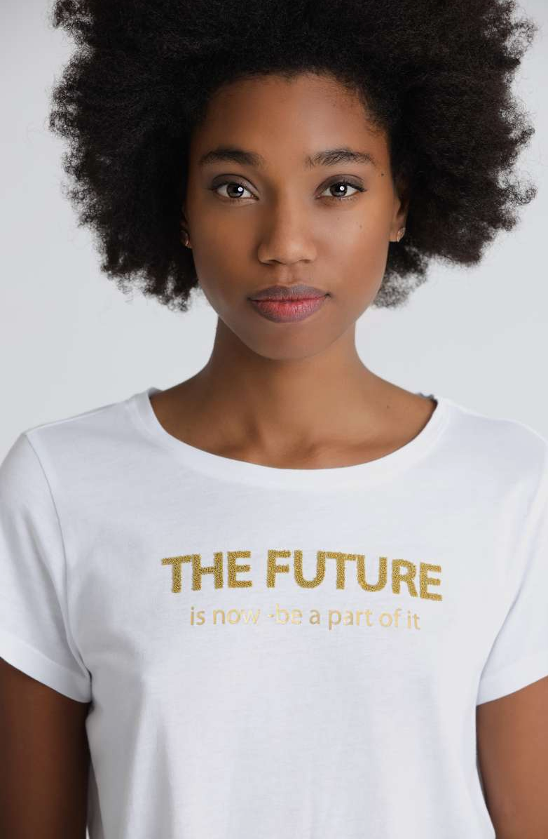 The Future Is Now Tee - Sonia's Runway