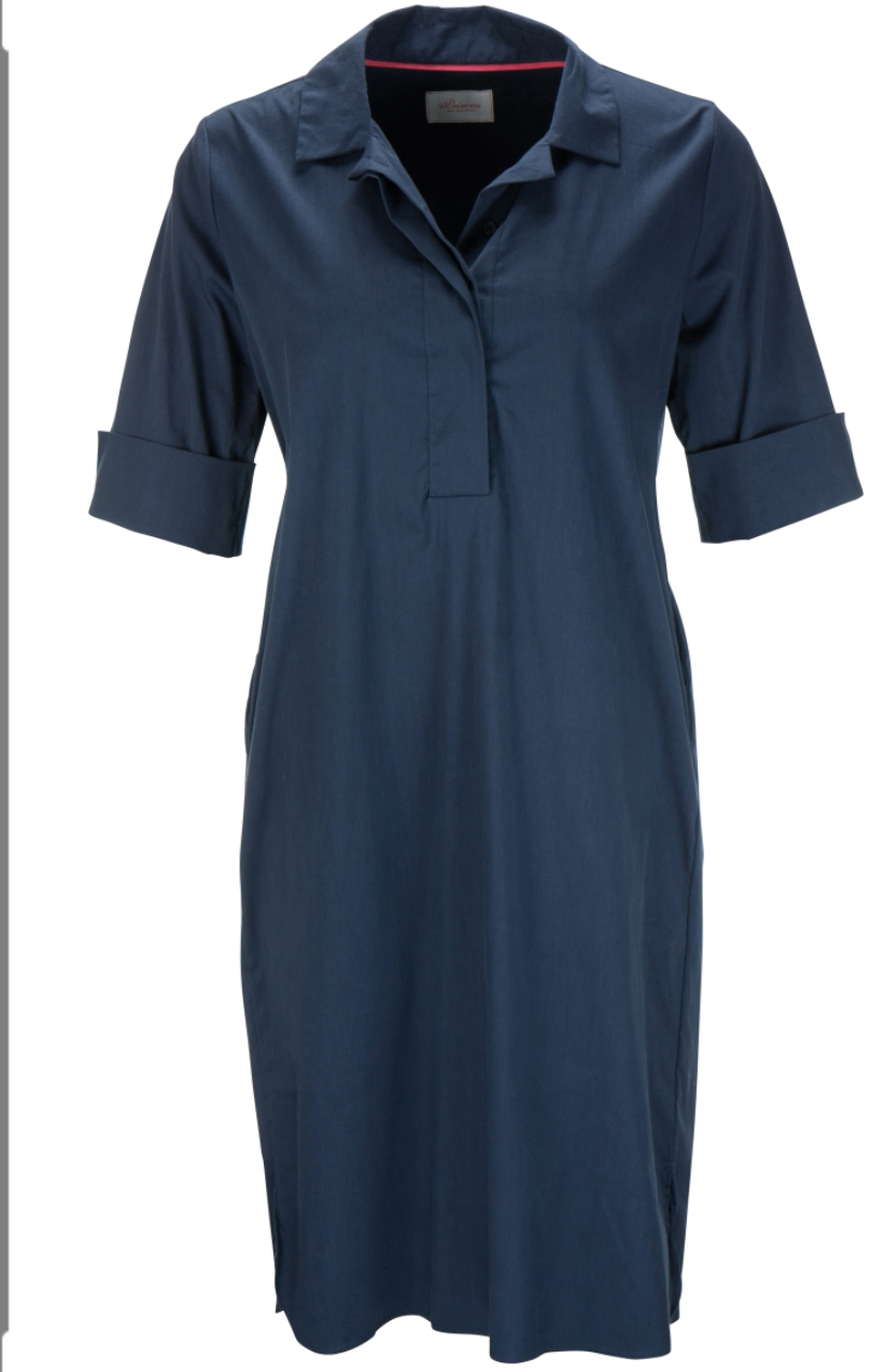 Collar Shirt Dress - Sonia's Runway