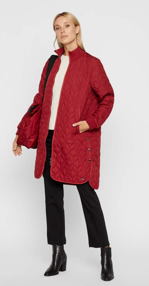 Quilted Long Jacket - Sonia's Runway