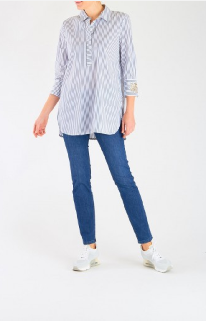 Striped Blouse - Sonia's Runway