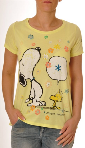 Snoopy In The Summer Tee