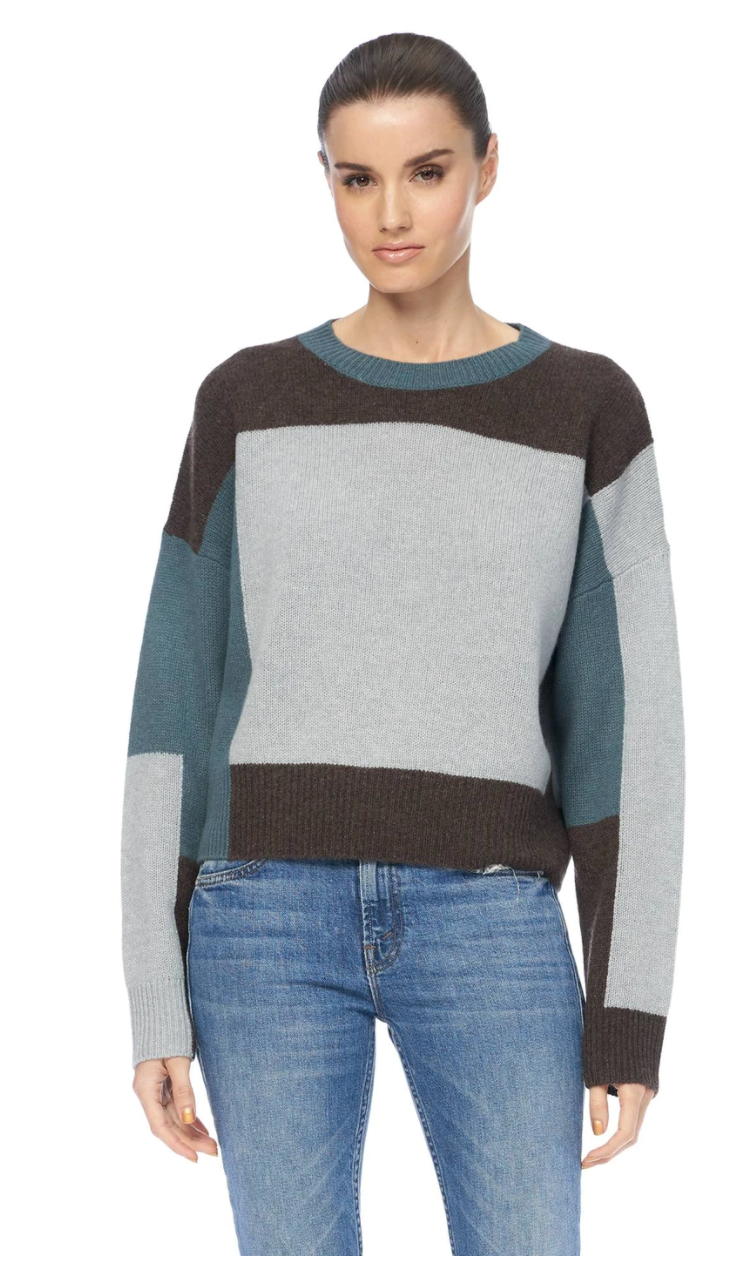 Saharah Color Block Sweater