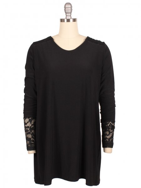 Lace Tunic - Sonia's Runway