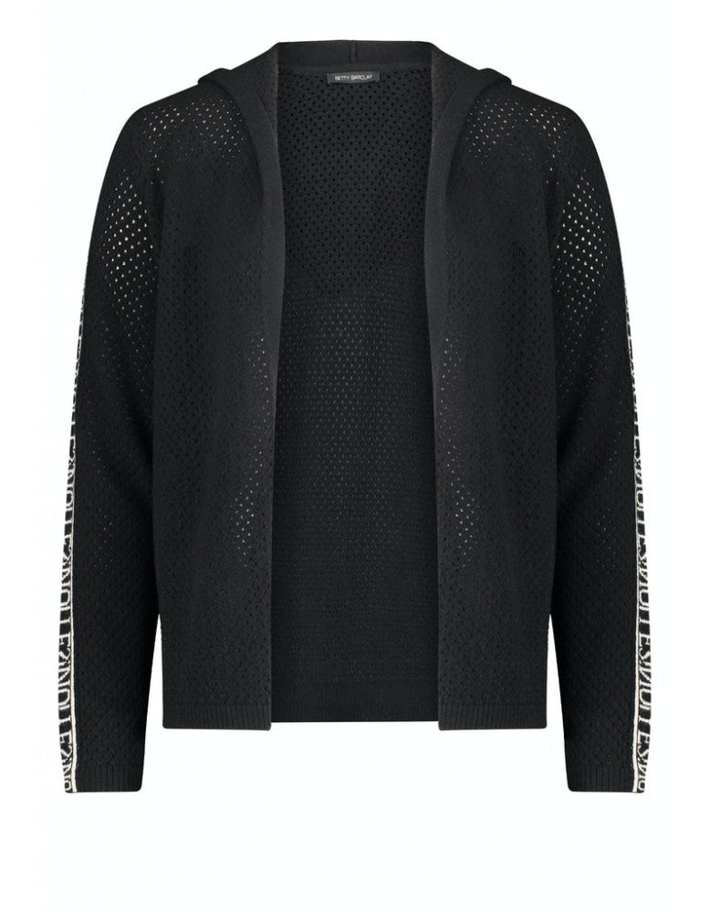 Perforated Cardigan