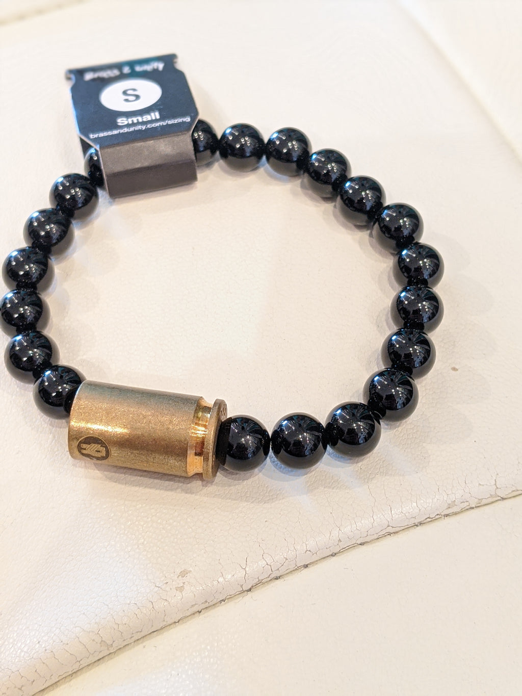 Black Onyx Warrior Bracelet - Sonia's Runway