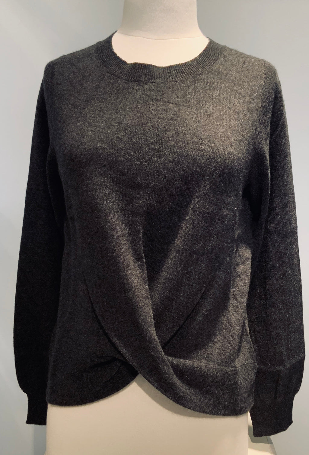Cashmere Sweater W/Twist
