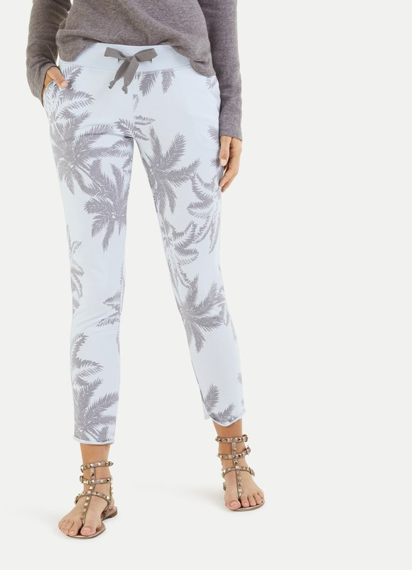 Palm Print Sweatpant