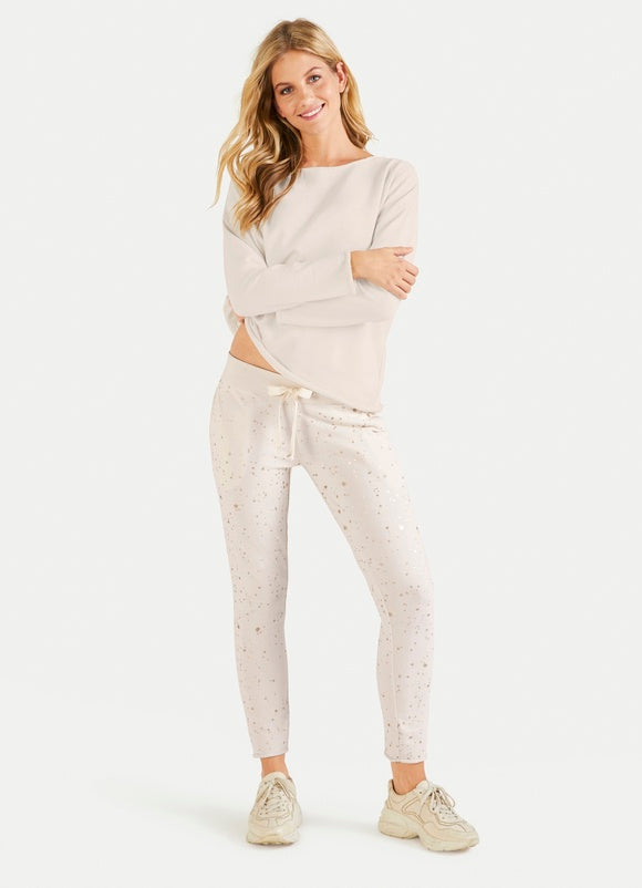Splatter Sweat Pant - Sonia's Runway
