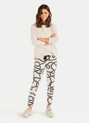 Rope Sweat Pant - Sonia's Runway