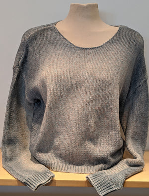 Crew Neck Sweater - Sonia's Runway
