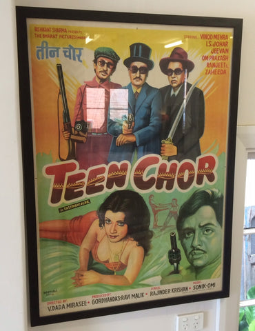 Vintage Bollywood Poster