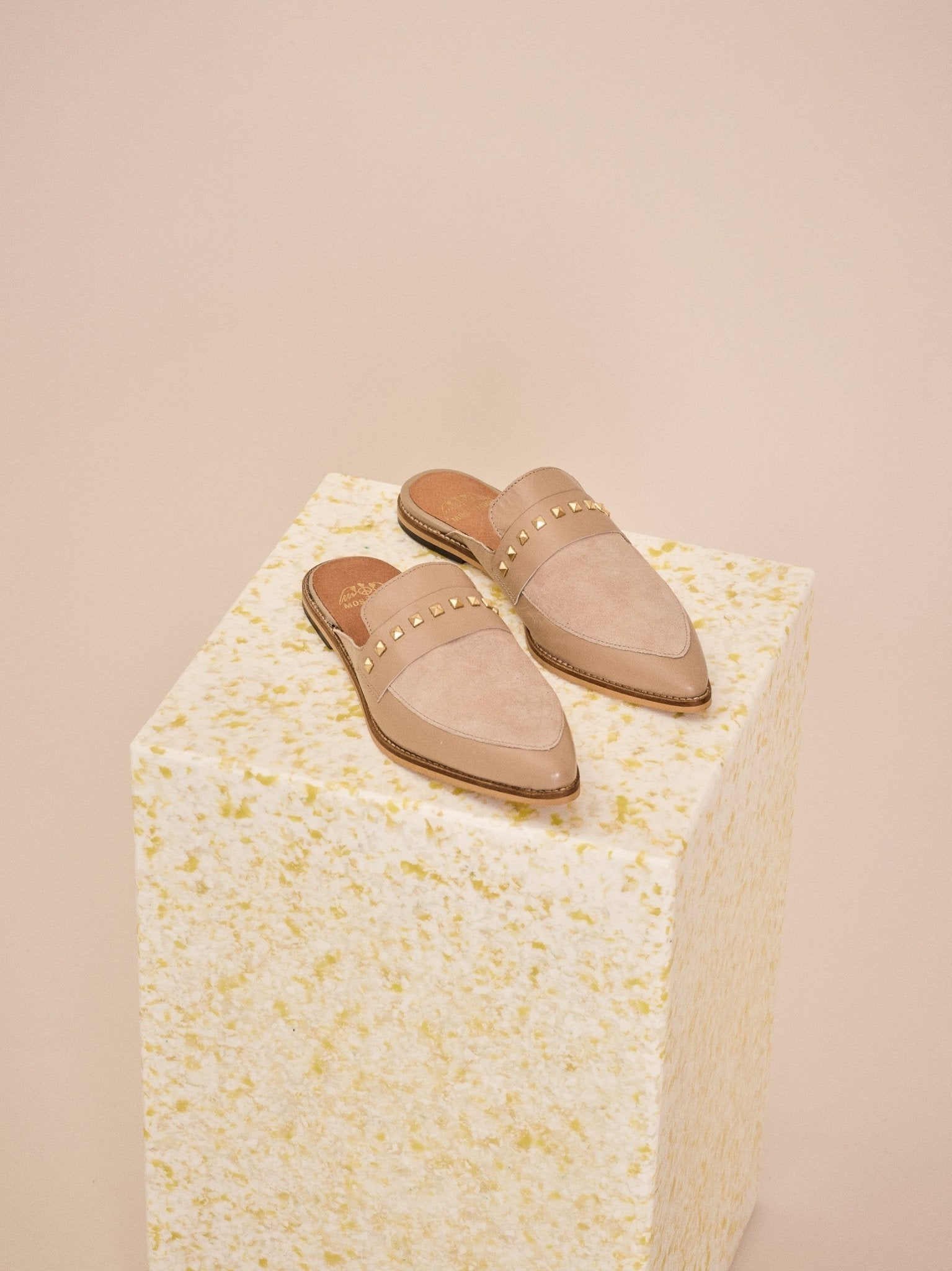 Mos Mosh Doha Suede Slipper - Kirsch Fashion
