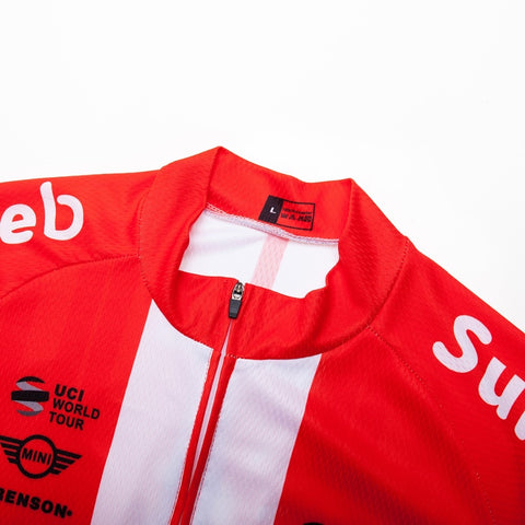 UCI TEAM 2019 Set da Ciclismo Red Culotte 12D Estivo